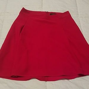 Red The Limited Skirt
